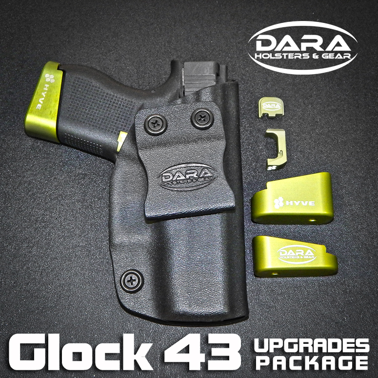 Glock 43 IWB Holster and HYVE Upgrades