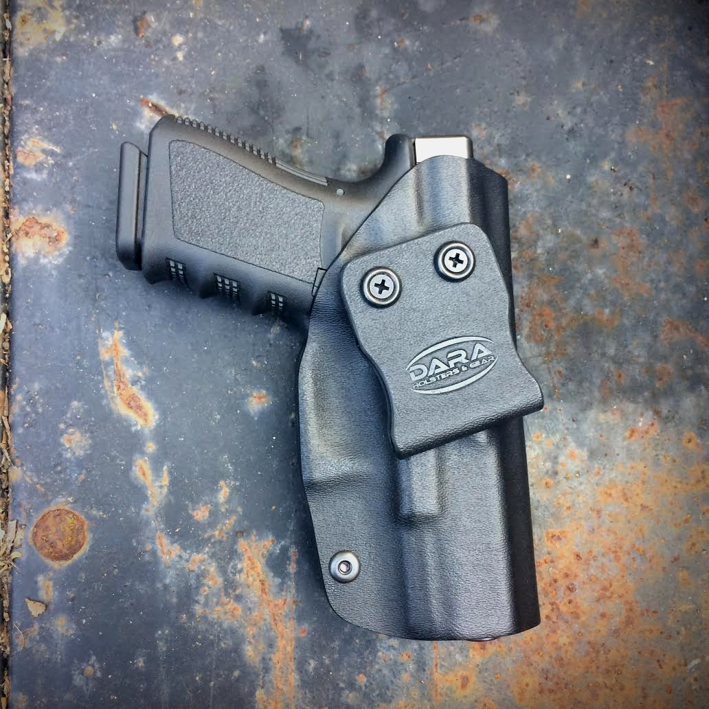 Glock 26 with Streamlight TLR-6 Holster, tlr 6 holster, tlr-6 holster, glock 19 holster, owb holster, pps m2 holster, dara holsters, iwb holster, tlr-6 iwb holster, glock 19 owb holsters, kydex owb holster, kydex holster, pps m2 kydex holster